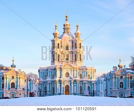 Saint-Petersburg. Russia. Smolny Cathedral
