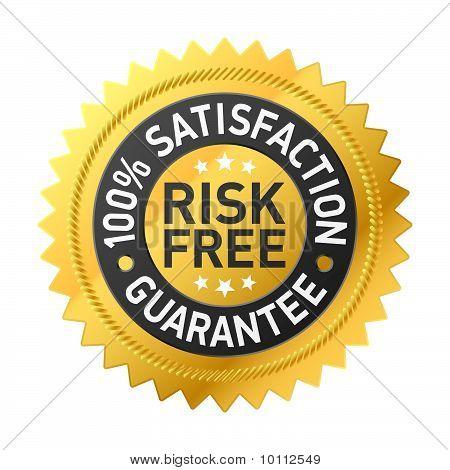 Risk-free guarantee label