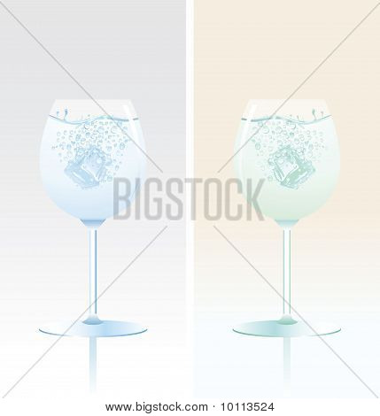 Two Tulip Glasses