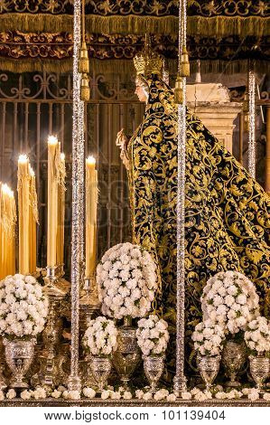 Holy Week in Seville, Virgin Mary of the Presentation