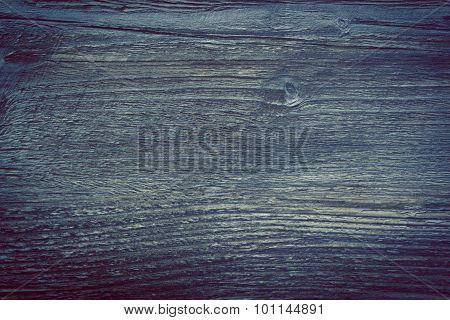 Vintage Photo, Wooden Texture As Background