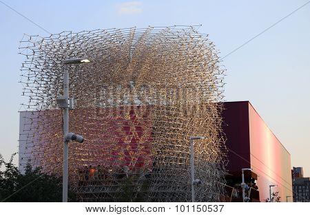 Milan, Italy - 8Th September, 2015. Expo Milano.great Britain English Pavilion