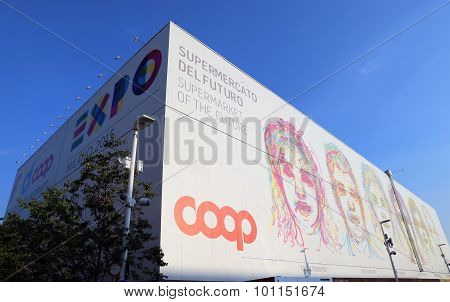 Milan, Italy - 8Th September, 2015. Expo Milano. Coop Pavilion
