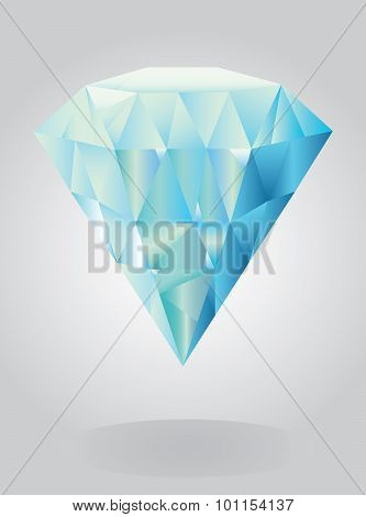 Vector - A Shiny bright diamond.