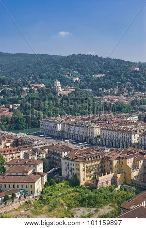 View Of Turin, Italy