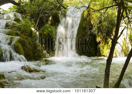 Plitvice Cascade