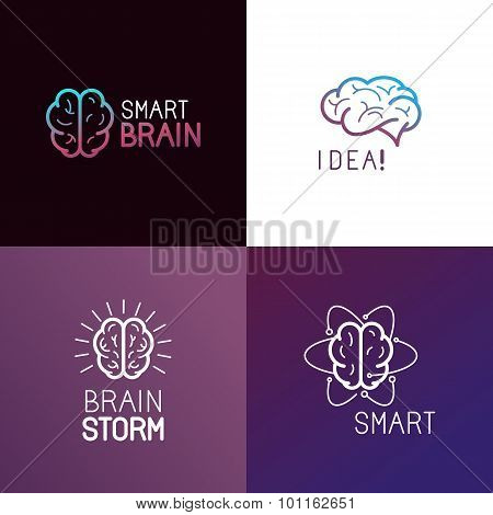 Vector Set Of Logo Design Elements