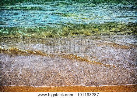 Porto Ferro Colorful Shoreline