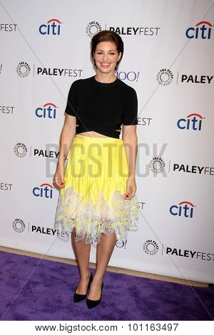 LOS ANGELES - SEP 9:  Bianca Kajlich at the PaleyFest 2015 Fall TV Preview - NBC at the Paley Center For Media on September 9, 2015 in Beverly Hills, CA