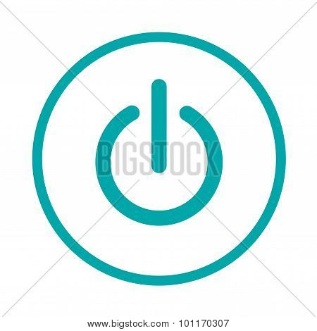 Switch Off Icon. Stock Illustration Concept Icon - Shut Down Icon