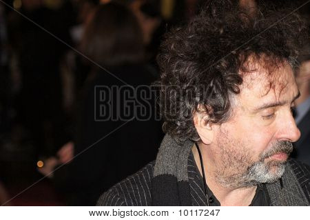 Tim Burton At The King's Speech Premiere In Central London 21 October 2010