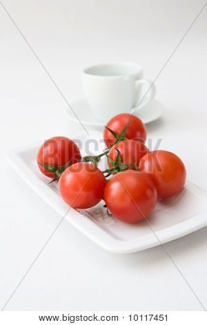 Tomatoes And Water