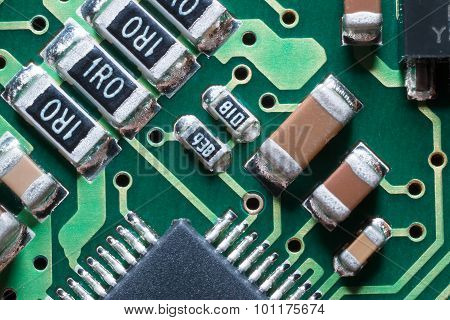 Smd Resistors And Condensers