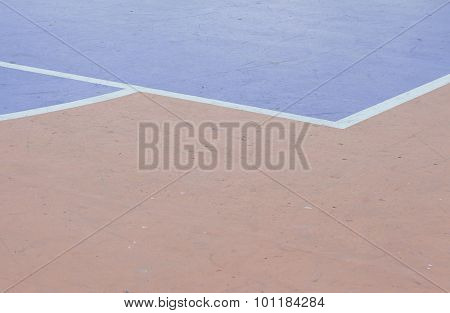 Abstract Color On Concrete Surface Floor