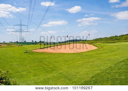 Sand Bunker, Golf Course