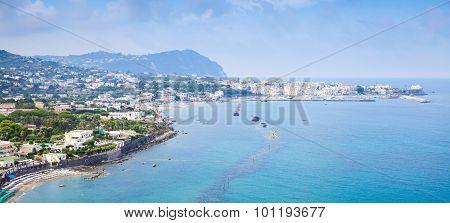 Beach Of Forio, Ischia Island, Italy