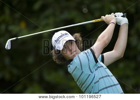 WENTWORTH, ENGLAND. 22 MAY 2009.Rory MCILROY NIR  playing in the 2nd round of the European Tour BMW PGA Championship.