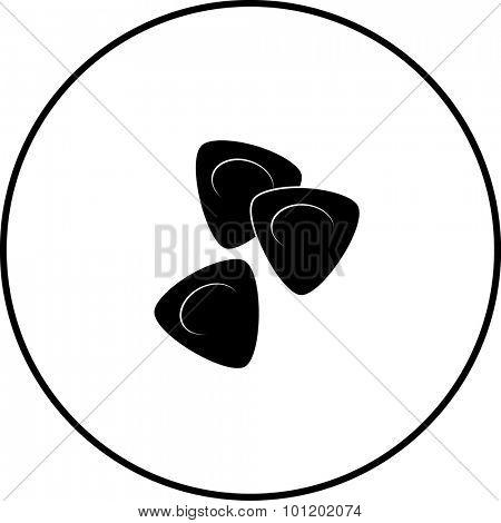 guitar picks symbol