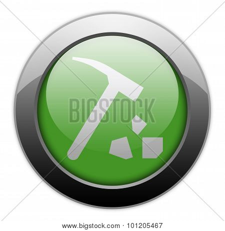 Icon, Button, Pictogram Rock Collecting