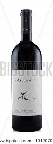 Red wine Bolgheri Rosso 2013