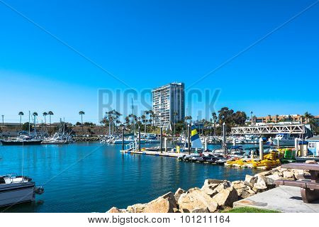 Marina at Oceanside, California