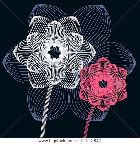 Geometry flower