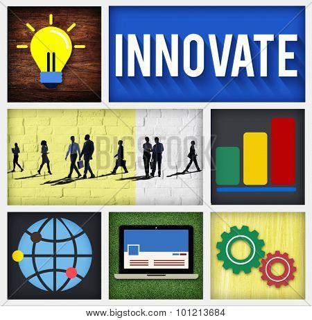 Innovate Invention Innovation Development Vision Concept