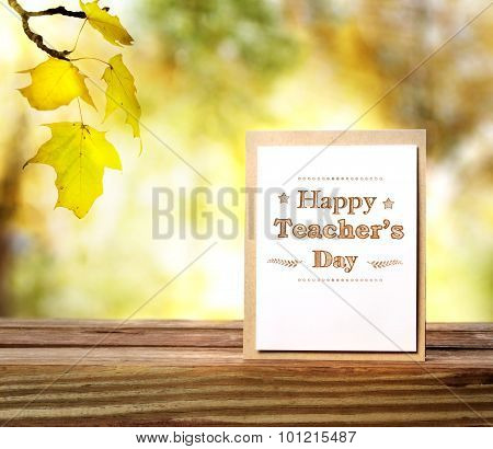 Happy Teachers Day Greeting Card