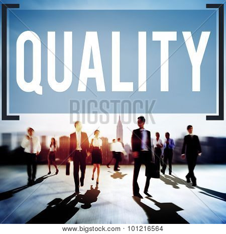 Quality Grade Level Guarantee Value Status Concept