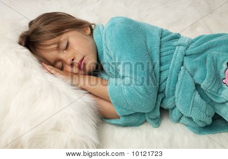 Pretty Female Child Sleeping