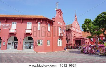 View Of Dutch Square In Malacca