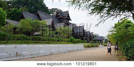 Replica Of Melaka's Sultanate Palace