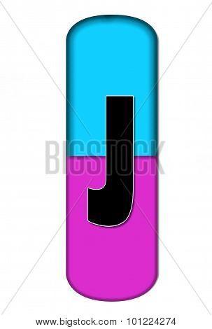 Alphabet Capsule J