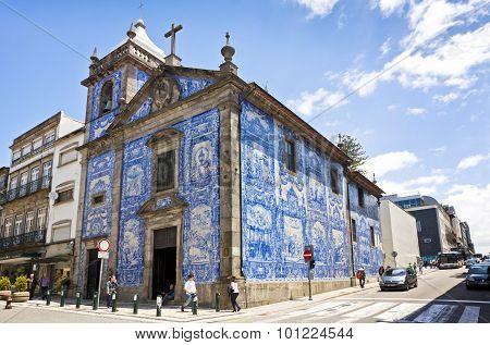 Capela Das Almas (capela De Santa Catarina) In Porto, Portugal