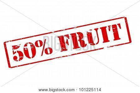 Fifty Percent Fruit