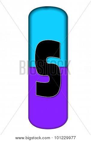 Alphabet Capsule S