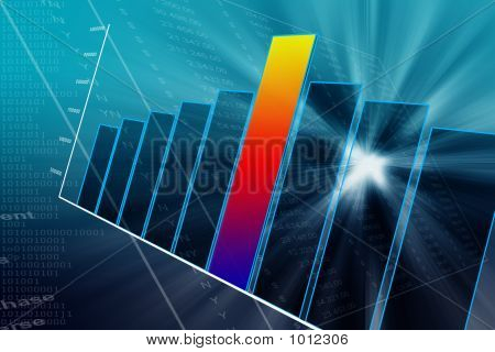 Gráfico de sucesso