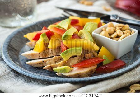Grilled Chicken Bento