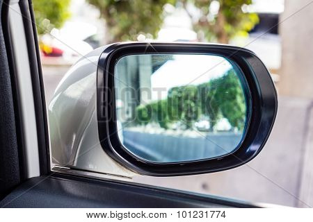 Mirror Of The Car