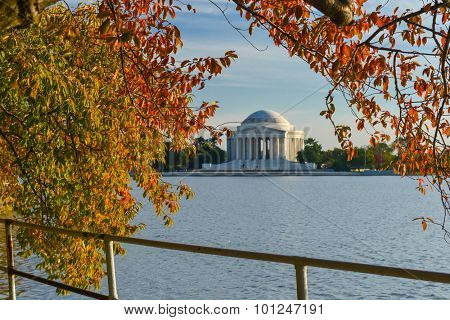Washington DC in Autumn - Thomas Jefferson Memorial