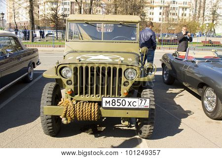 Retro Car Willys