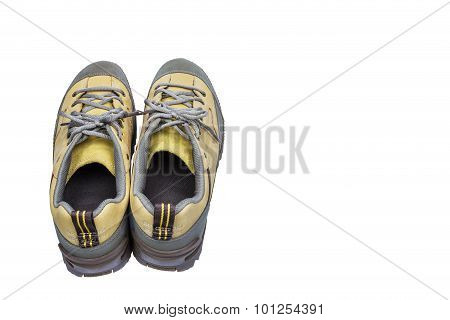 Isolated Engineering Shoes On White