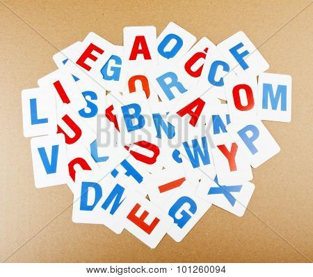 Learning Alphabet Letters.