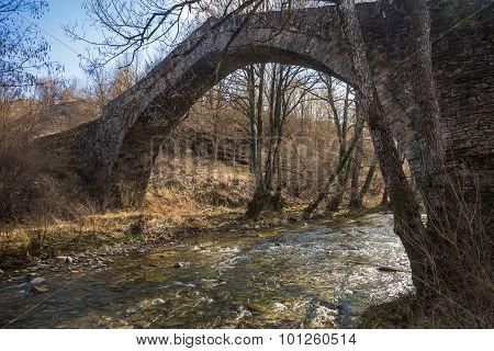Stone Bridge, Zagorohoria, Greece