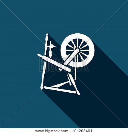 Distaff Vector Icon