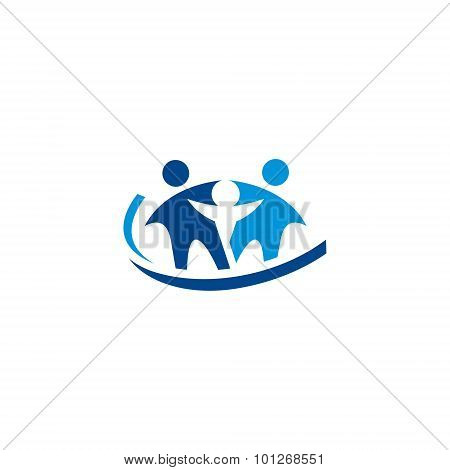 Family Medicine Practice Abstract Vector Sign