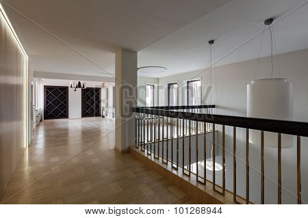 Interior Of Large Modern Empty Space