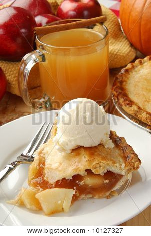 Apple Pie And Cider
