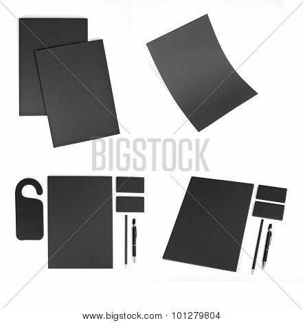 Stationery Set Design. Stationery Template. Corporate Identity.