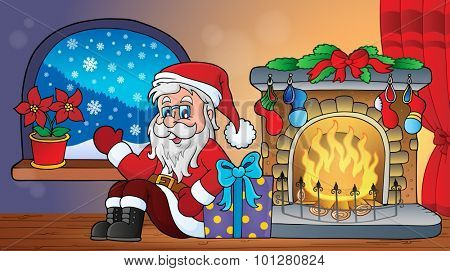 Christmas indoor topic 2 - eps10 vector illustration.